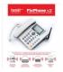 Стационарный сотовый телефон с русифицированным меню и клавиатурой и функцией BabyCall