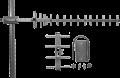 Антенна направленная ANT 1815LY