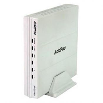 AP-GS1001C - VoIP-GSM шлюз, 1 GSM канал, SIP & H.323, CallBack, SMS. Порты 1хFXO, Ethernet 2x10/100