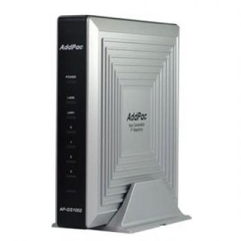 AP-GS1002A - VoIP-GSM шлюз, 2 GSM канала, SIP & H.323, CallBack, SMS. Порты Ethernet 2x10/100 Mbps