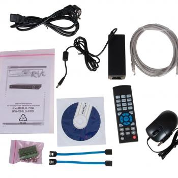 Цифровой видеорегистратор RVi-R08LB-PRO