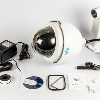 Скоростная купольная IP-видеокамера RVi-IPC52Z30-PRO (4,3-129 мм)