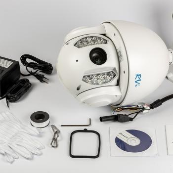 Скоростная купольная IP-видеокамера RVi-IPC62Z30-PRO (4,3-129 мм)
