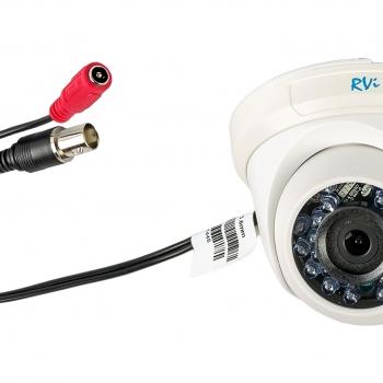 Купольная видеокамера с ИК-подсветкой RVi-C311B (3,6 мм)