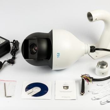 Скоростная купольная видеокамера RVi-C61Z36 (3,4-122,4 мм)